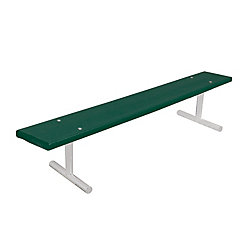 UltraSite 6 ft. Commercial Recycled Plastic Portable Bench in Green