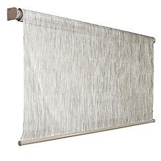 72 Inch x 72 Inch Coolaroo Birch Exterior Roller Shade, 92% UV Block