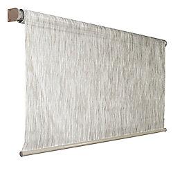 Coolaroo Store à enroulement automatique dextérieur Coolaroo couleur bouleau de 243,84 cm x 182,88 cm, bloque 92 % des rayons UV