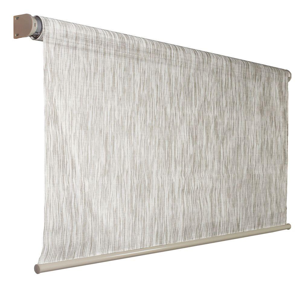 Coolaroo 96 Inch x 72 Inch Coolaroo Birch Exterior Roller Shade, 92% UV Block