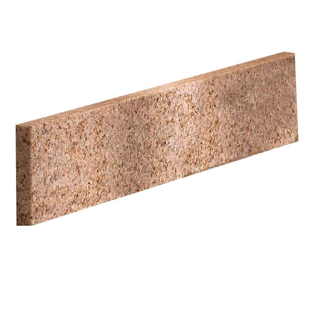 Beige Granite Side Splash - 17 Inch