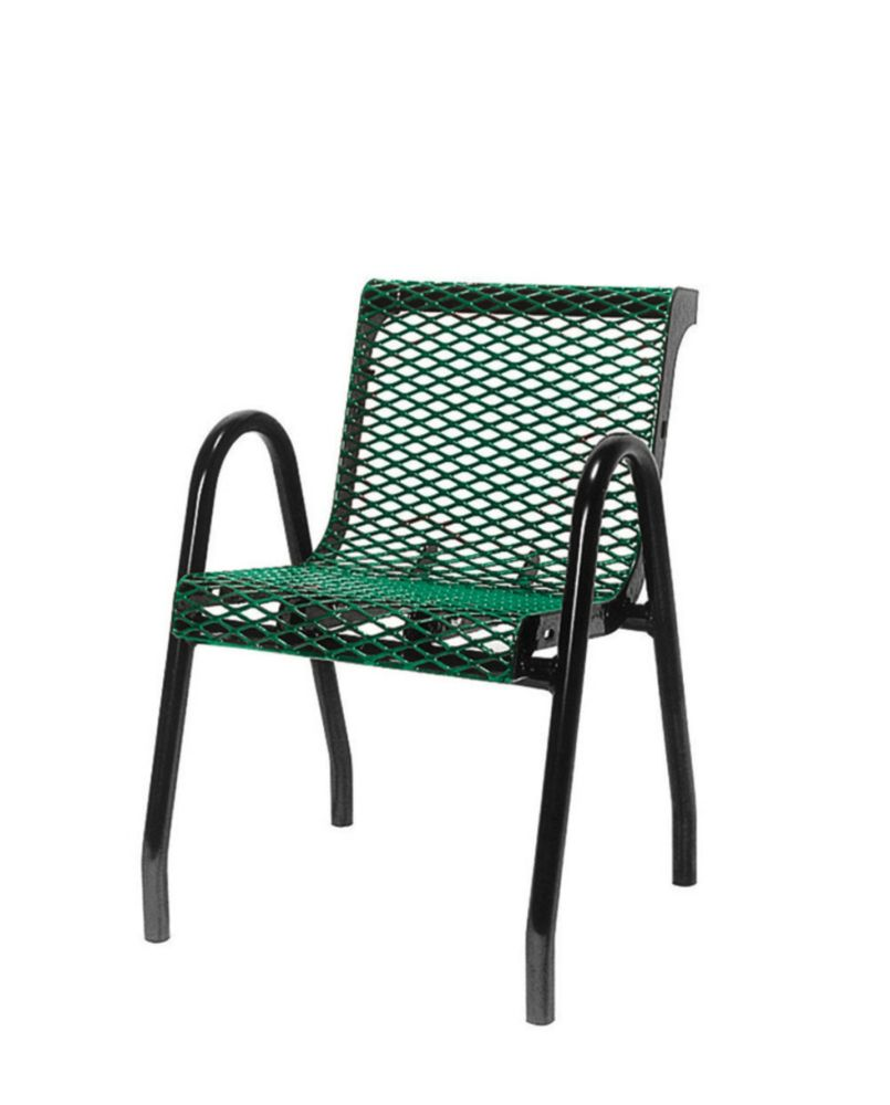 Commercial Food Court Chair- Green