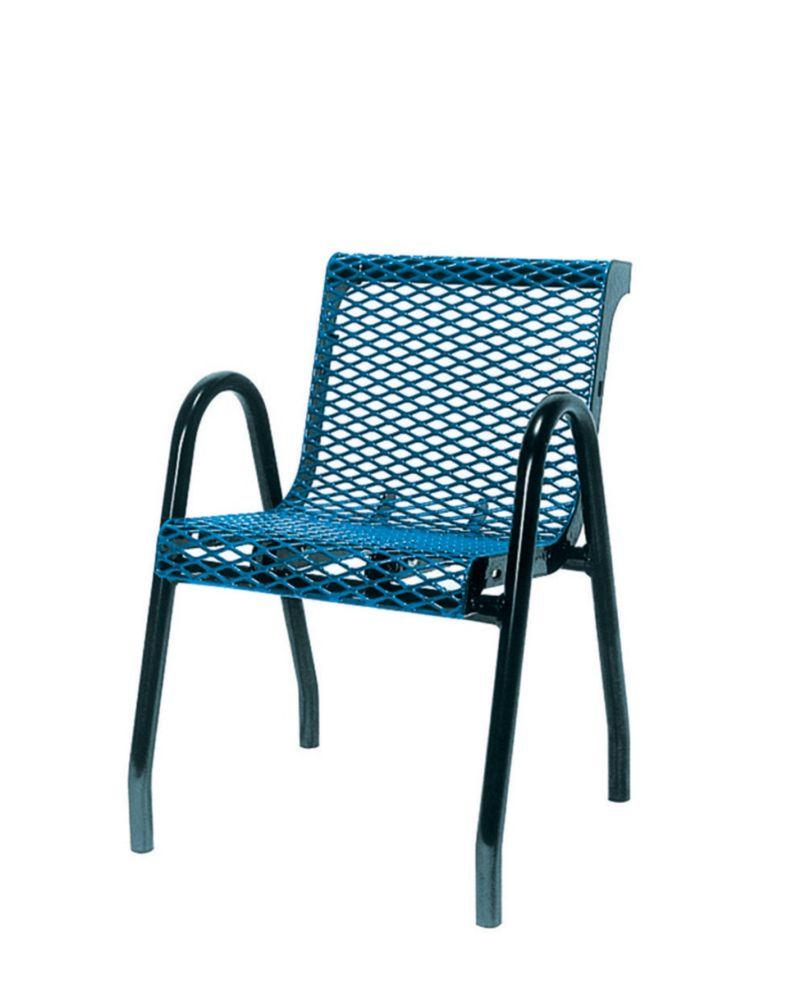 Chaise pour aire de restauration- Bleu