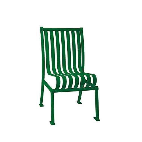 Hamilton Commercial Patio Chair without Arm Rests in Green