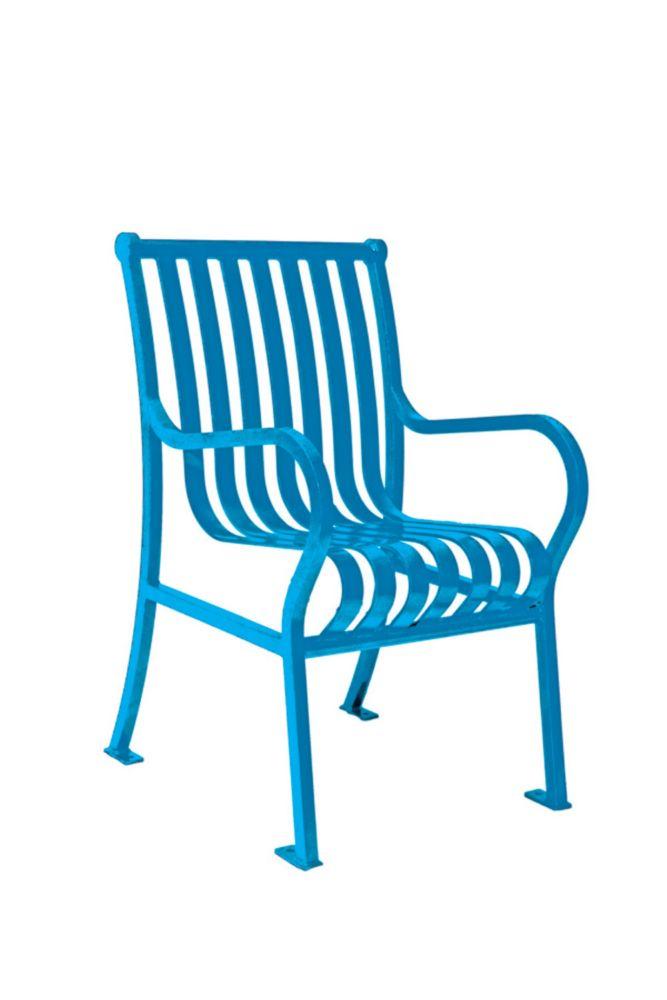 Chaise de jardin Hamilton- Bleu