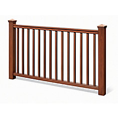 6 Ft. - 42 In. Traditional Handrail Kit Cedar - Railing