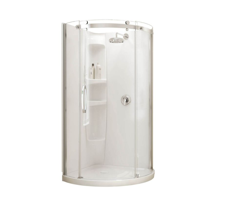 32 inch corner shower stall kits. Olympia Corner Fit 36 inch x 77 1 2 Shower Stalls  Kits The Home Depot Canada