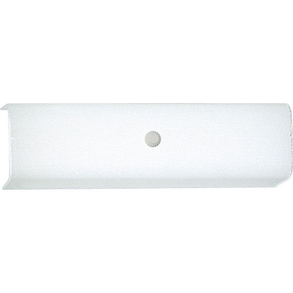 White 2-light Vanity Fixture