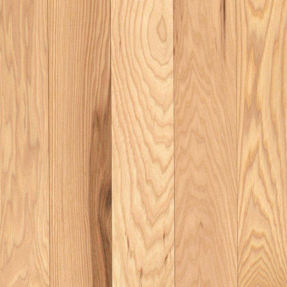 Mohawk barrymore 3 4 solid x 3 1 4 width hickory for Hardwood floors hickory