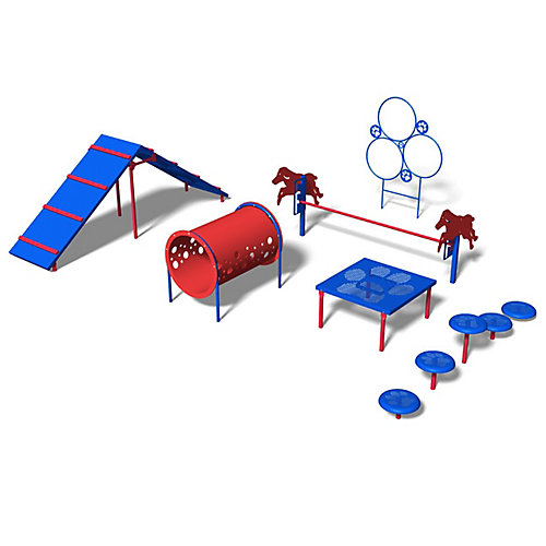Intermediate Obstacle Kit in Playful