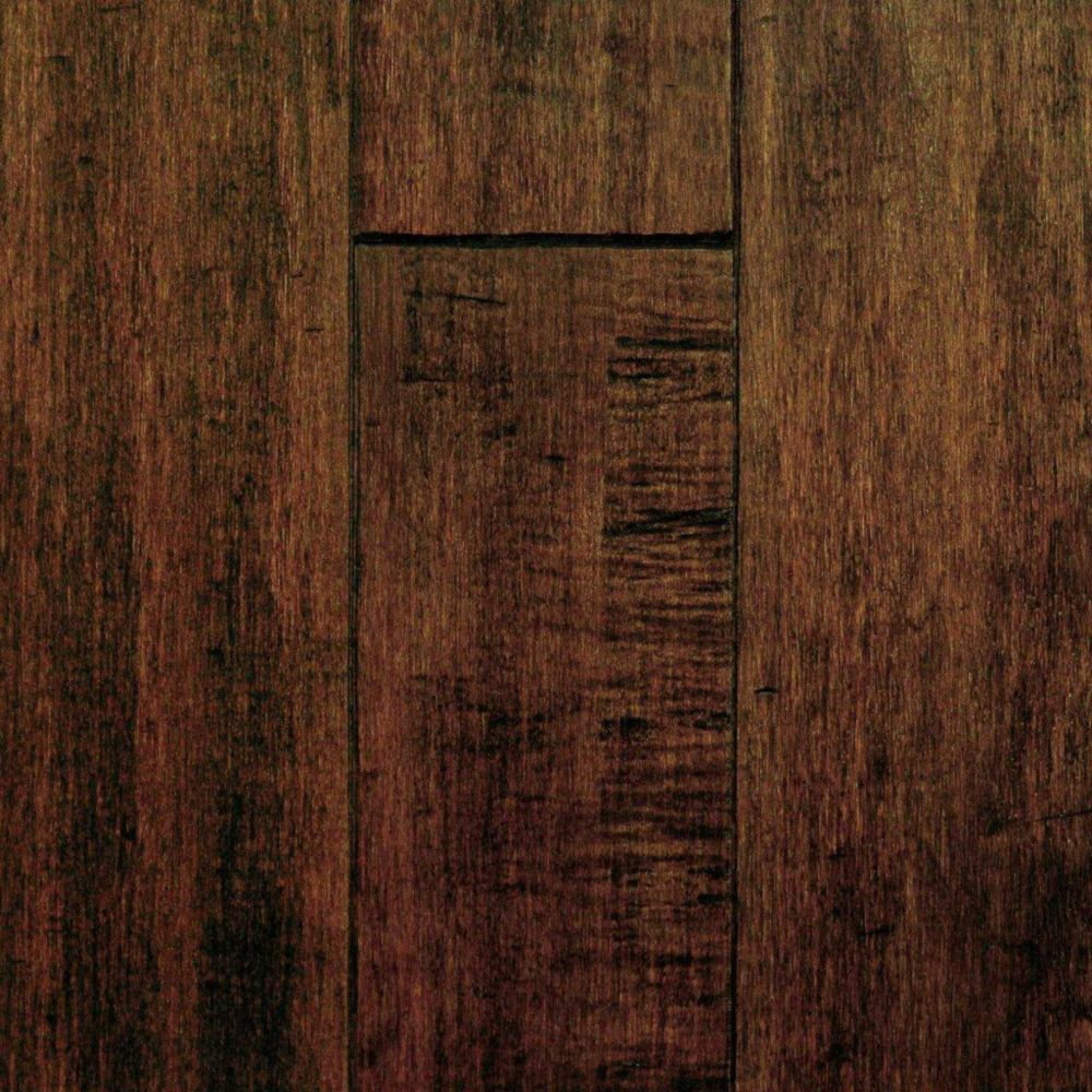 Maple Cappuccino Hand Sculpted 3/4-inch Thick x 5-inch W Solid Hardwood Flooring (20 sq. ft. / ca...