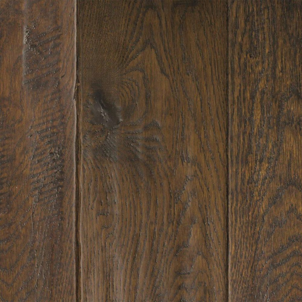 Oak Ebony Hand Sculpted 3/4-inch x 5-inch W Solid Hardwood Flooring (20 sq. ft. / case)