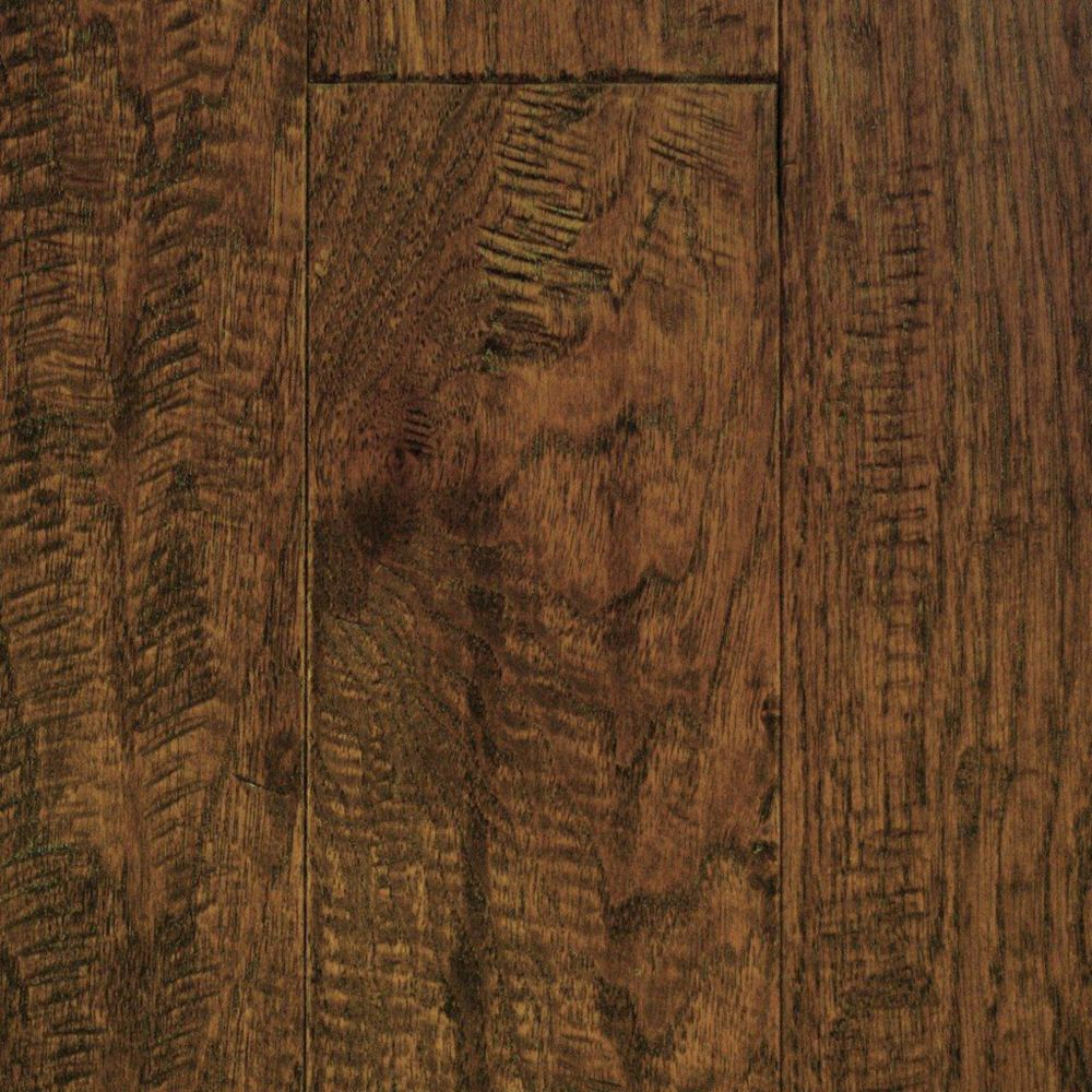 5 Inch Hickory Provincial Hand Sculpted 1/2 Inch Engineered Hardwood Flooring (24.35  Sq.Ft./Case)