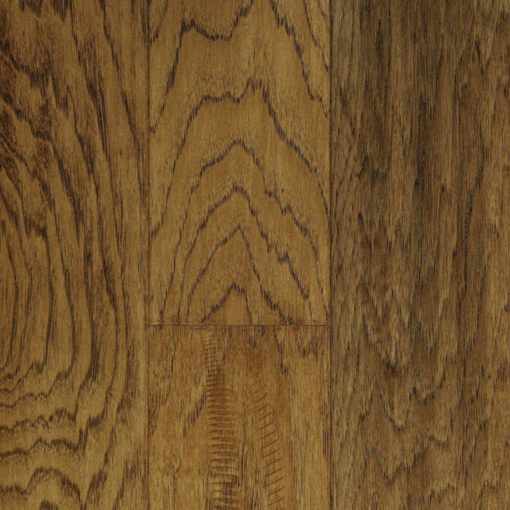 5 Inch Hickory Sunset Sand Hand Sculpted 1/2 Inch Engineered Hardwood Flooring ( 24.35  Sq.Ft./Ca...