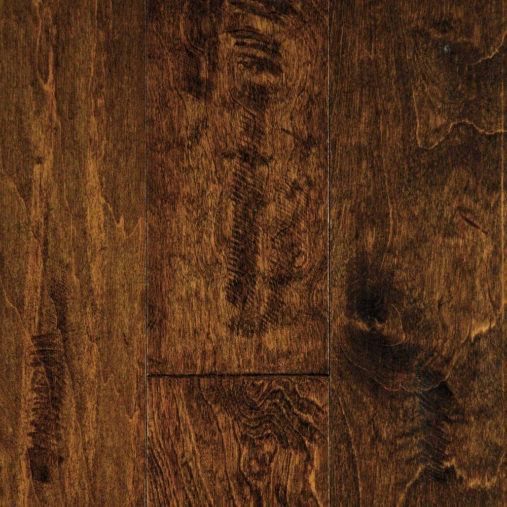 5 Inch Maple Brownstone Hand Sculpted 1/2 Inch Engineered Hardwood Flooring (24.35  Sq.Ft./Case)