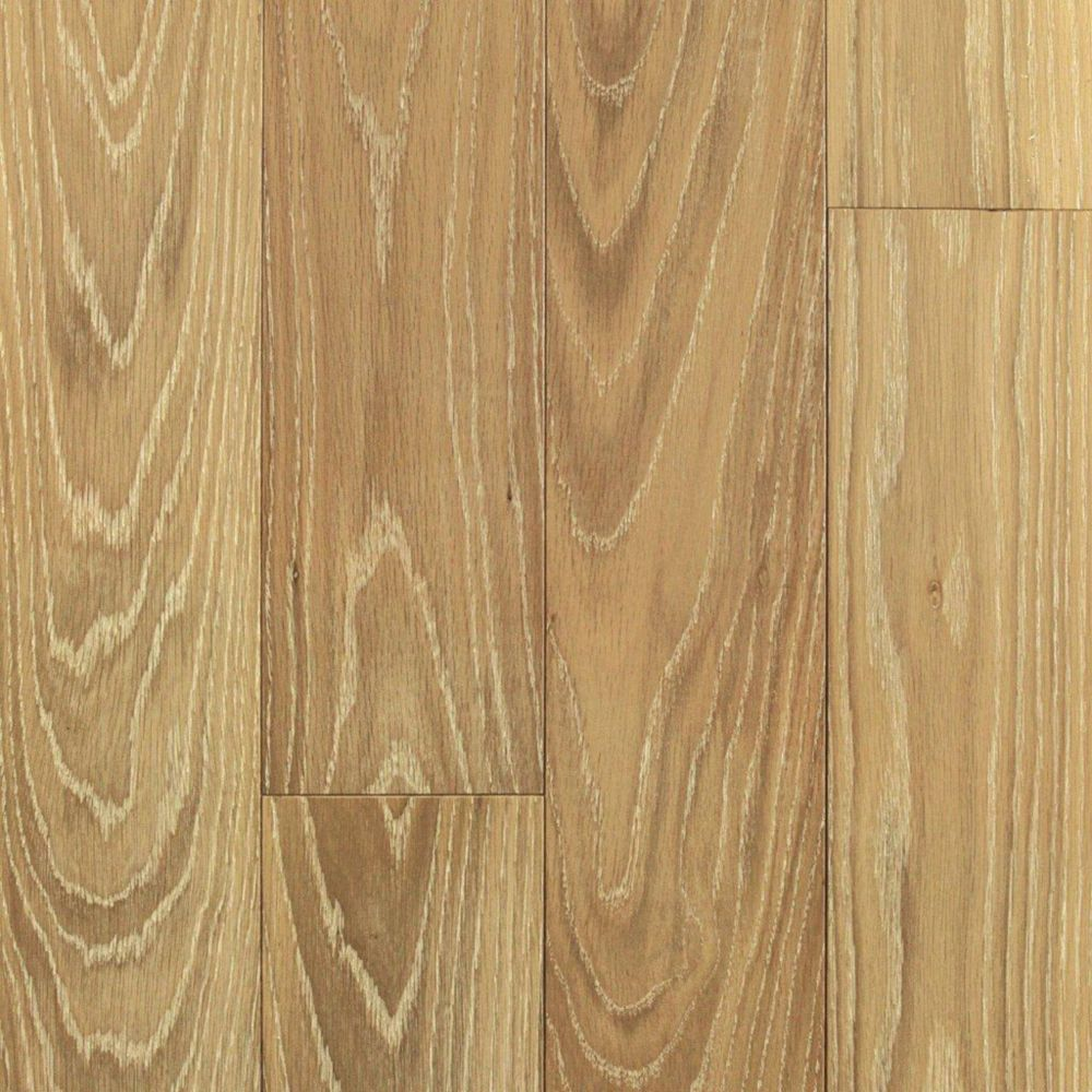 6 Inch Oak Sandstone Wire Brushed 1/2 Inch Engineered Hardwood Flooring (14.8  Sq.Ft./Case)