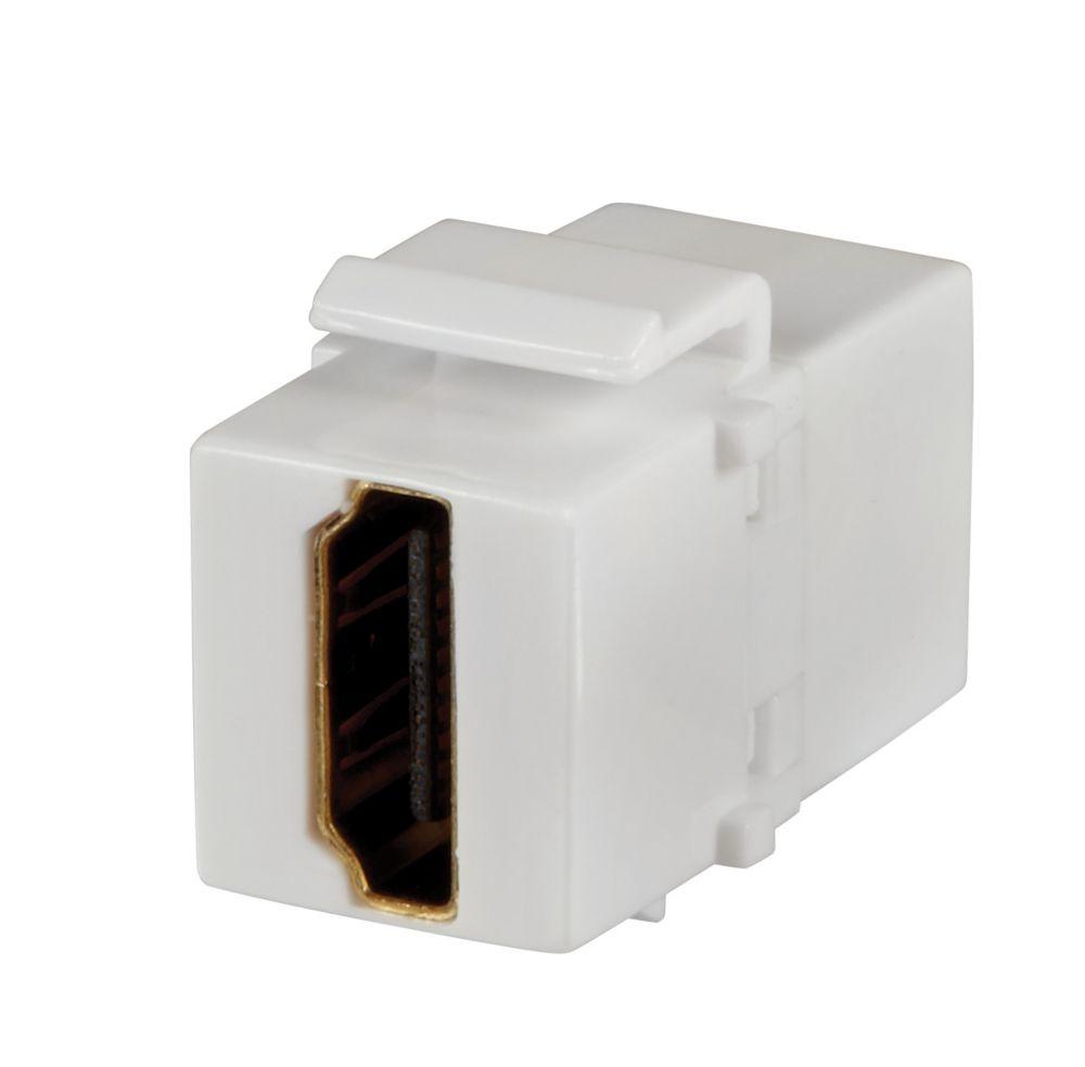 HDMI INSERT, WHITE