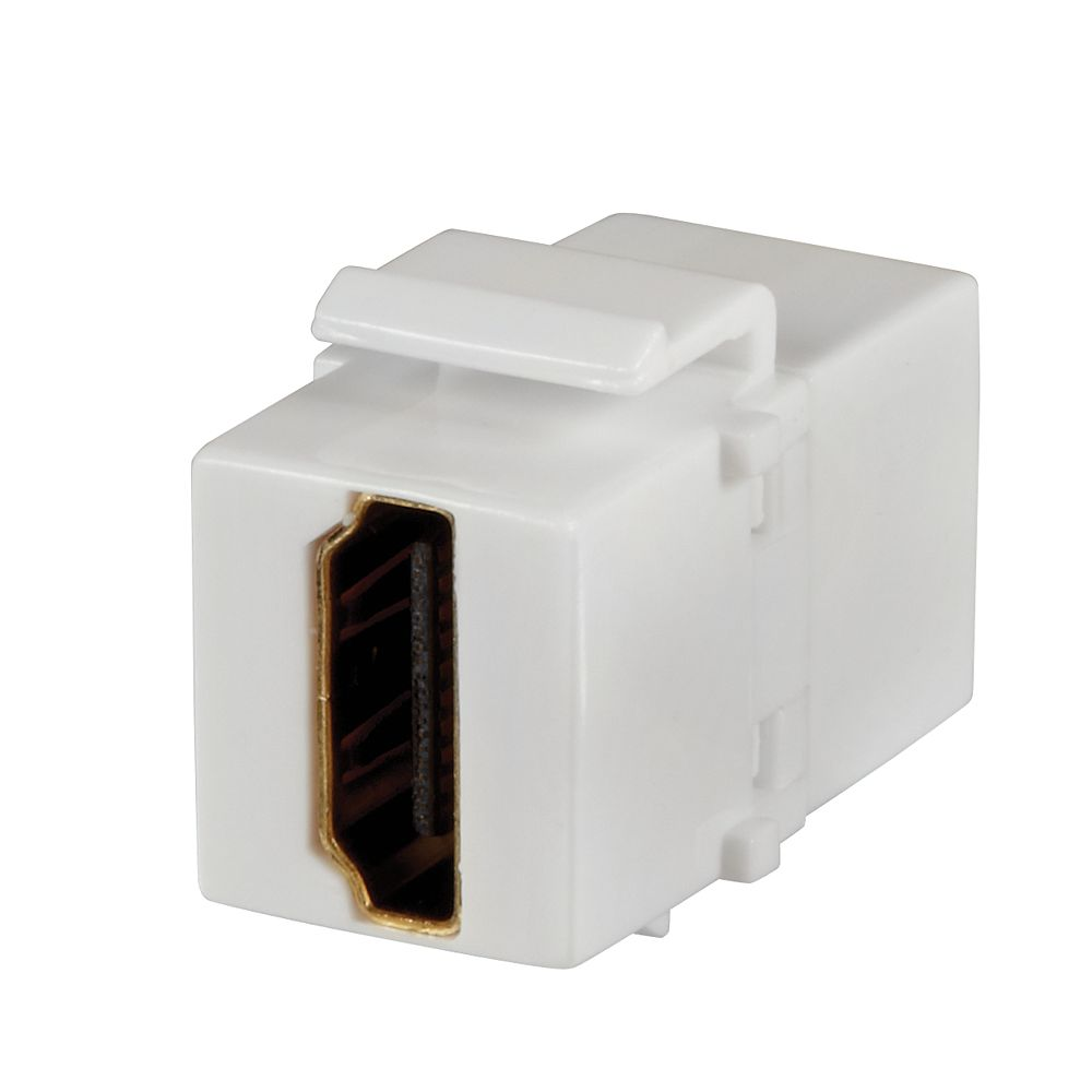 Commercial Electric HDMI Insert - White