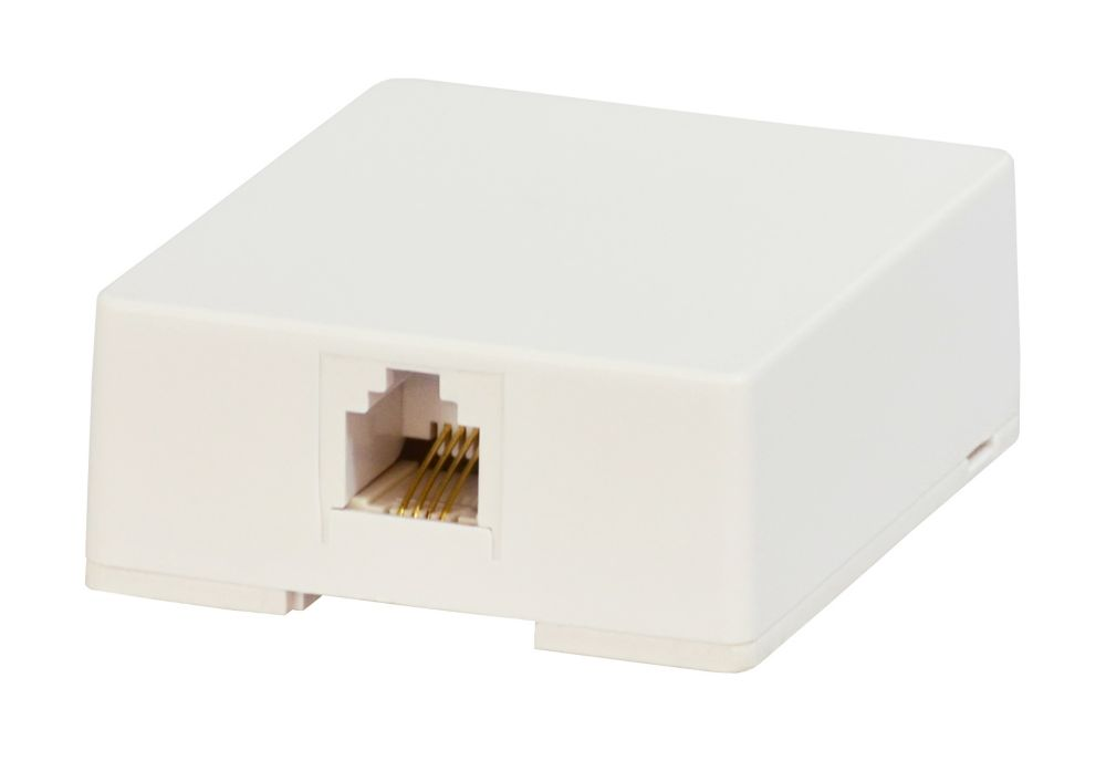 SURFACE BLOCK, 4 CONDUCTOR, WH