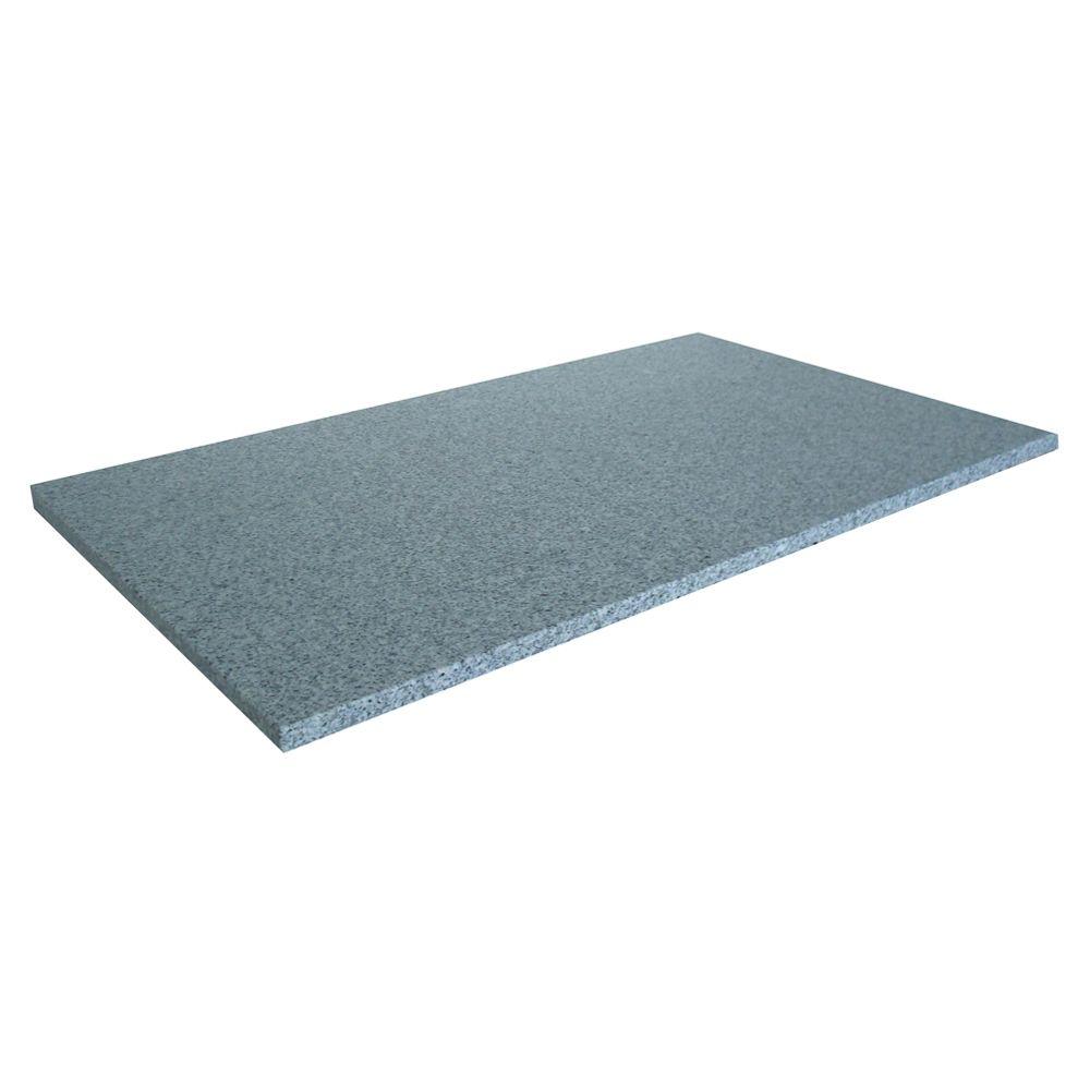 31-Inch W x 22-Inch D Napoli Granite Utility Vanity Top