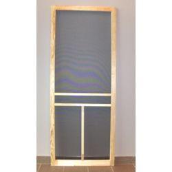 DIY 32-inch T-Bar Wood Screen Door