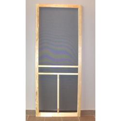DIY 34-inch T-Bar Wood Screen Door