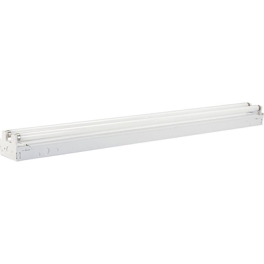 White 2-light, 48 In. Fluorescent Strip