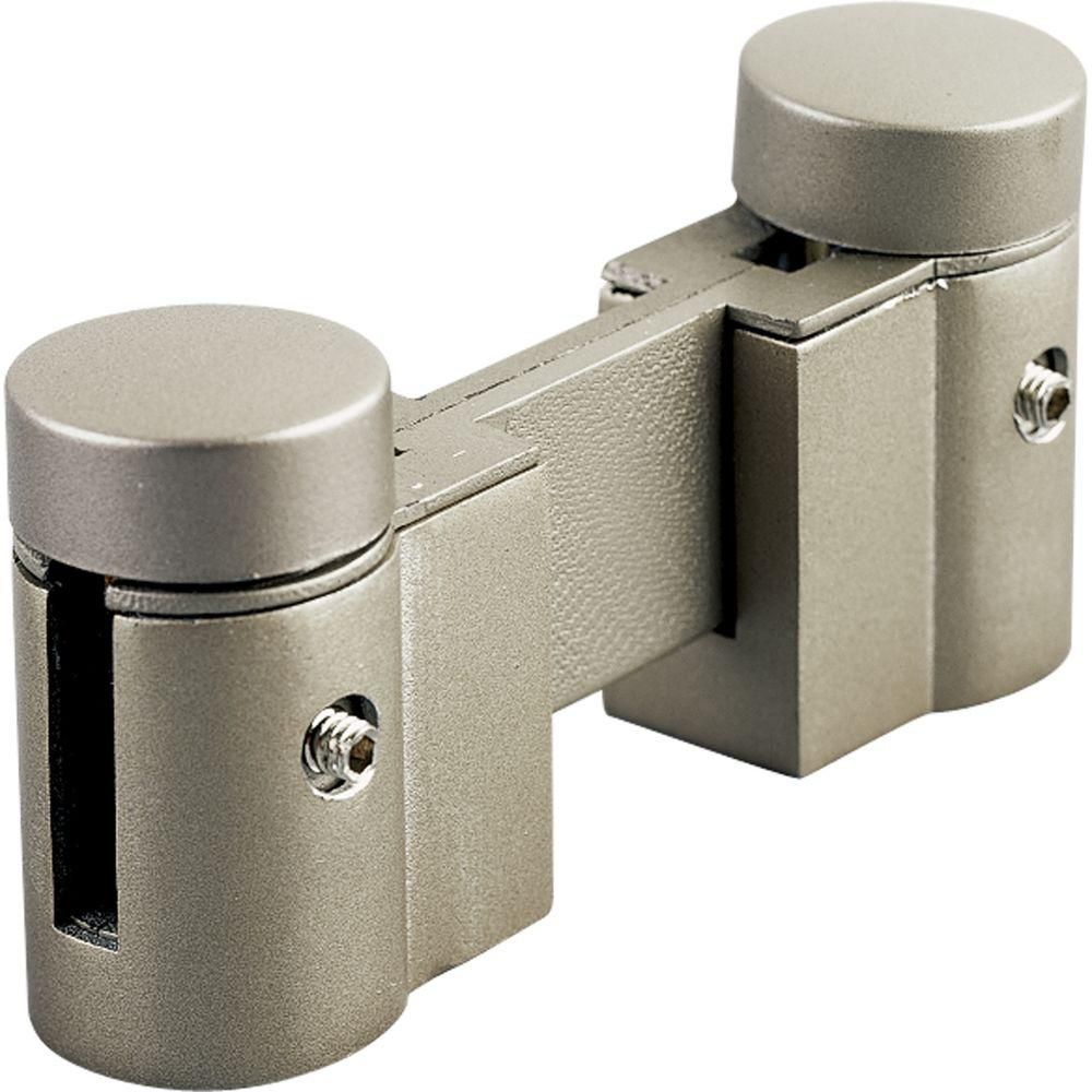 Illuma-Flex Brushed Nickel Track Non-Powered Link