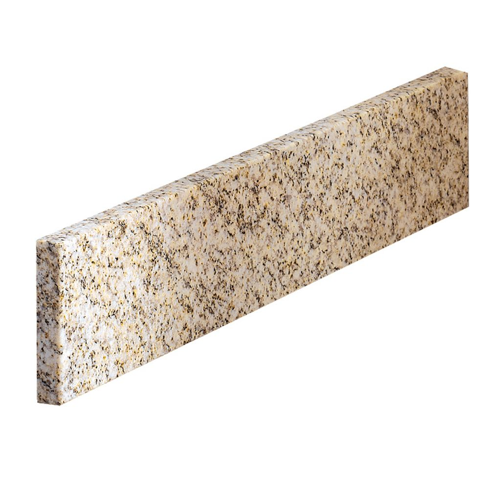 Golden Hill Granite Side Splash - 20 Inch