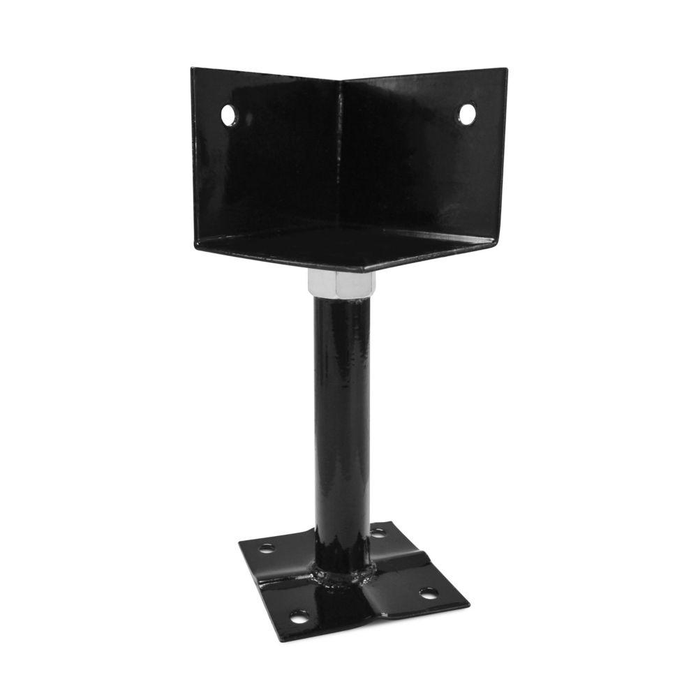 Adjustable deck support 4x4 Corner