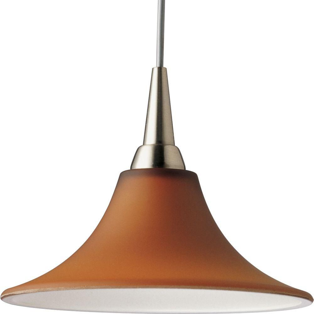 flex collection brushed nickel 1 light pendant the home depot canada. Black Bedroom Furniture Sets. Home Design Ideas