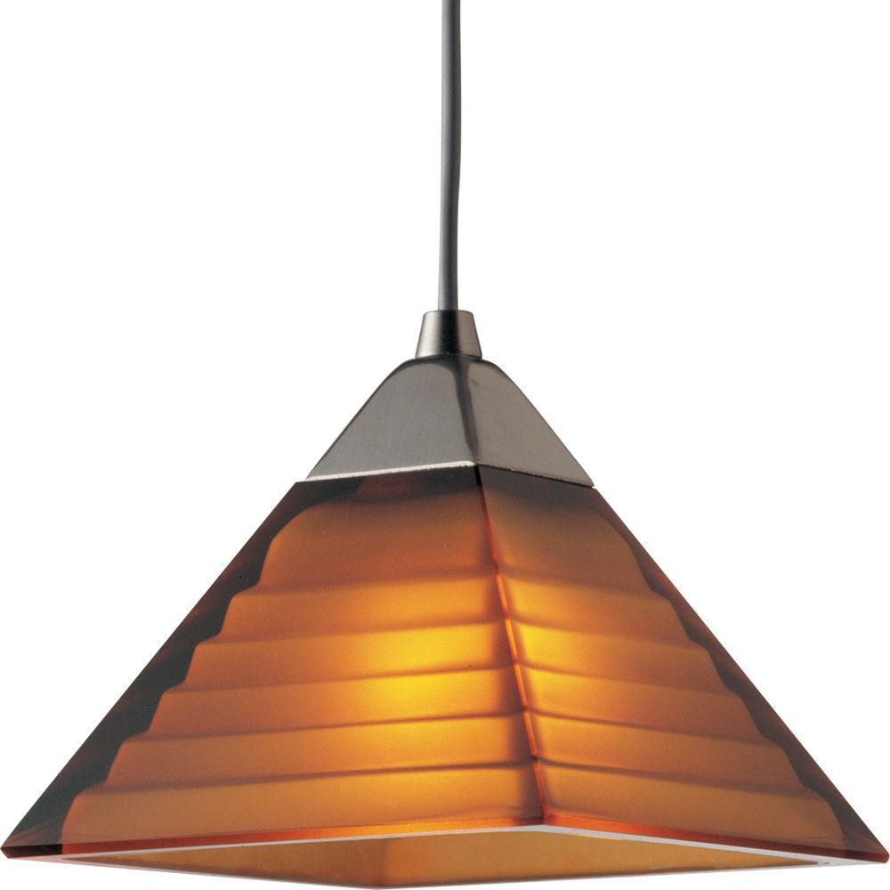 Illuma-Flex Collection Brushed Nickel 1-light Pendant