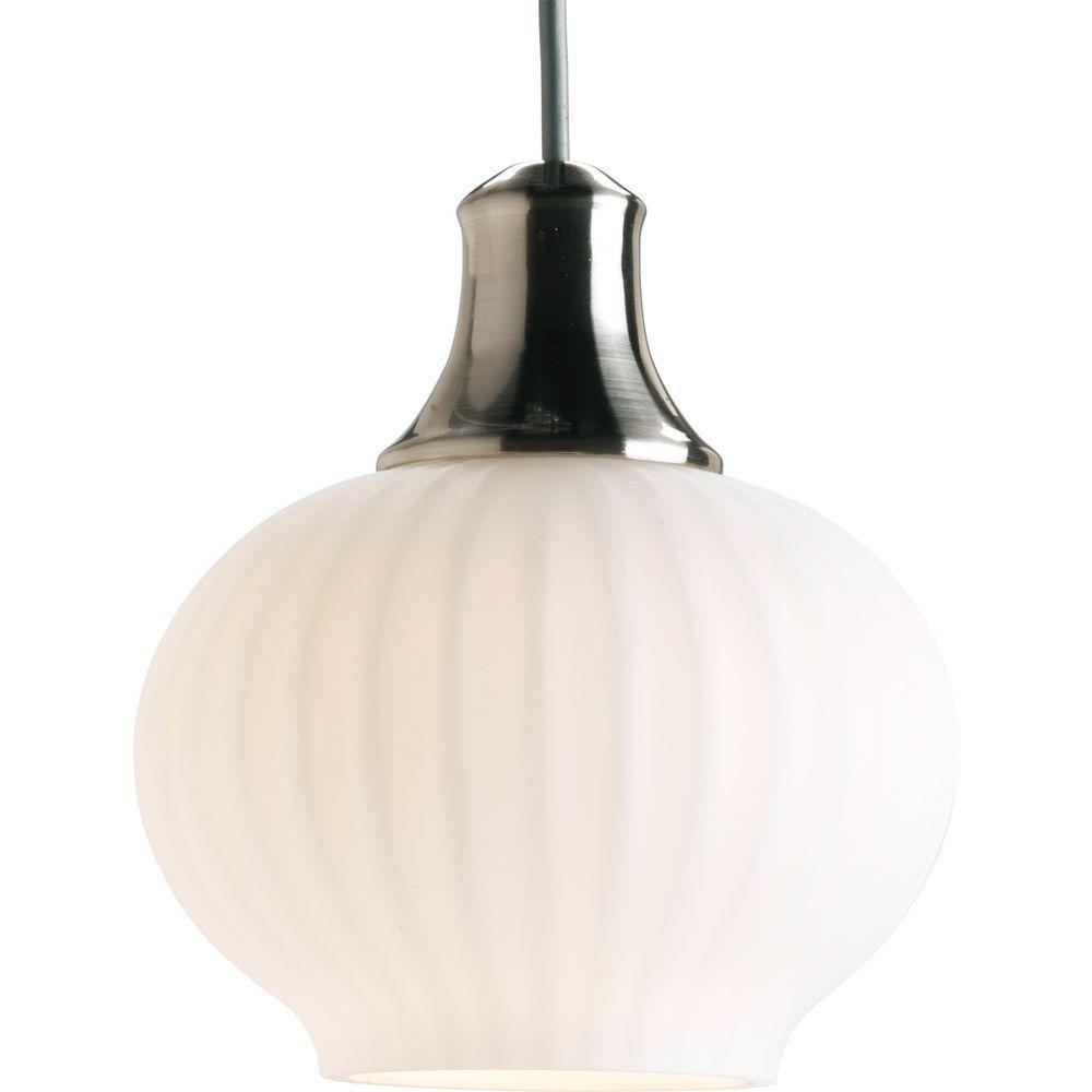 Illuma-Flex Collection Brushed Nickel 1-light Pendant