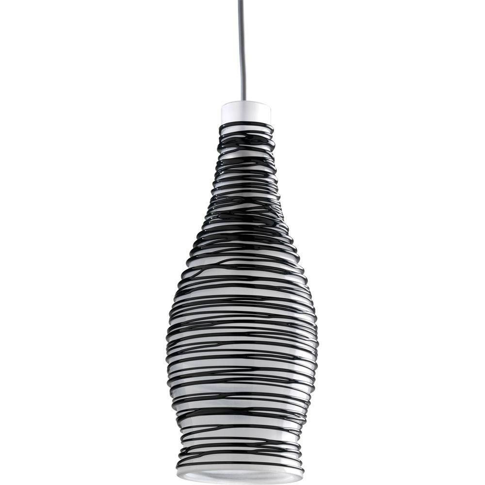 Suspension à 1 Lumière, Collection Illuma-Flex - fini Nickel Brossé