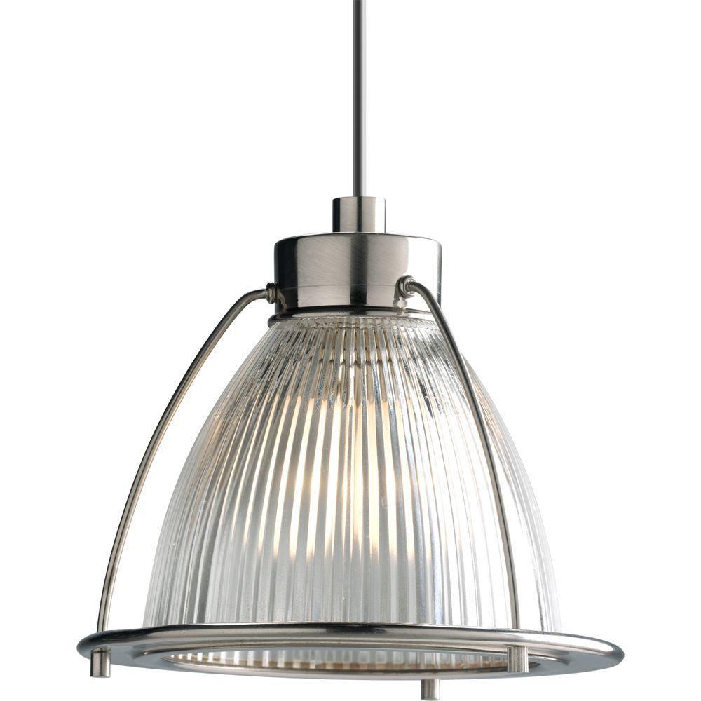 Progress Lighting Illuma-Flex 1-Light Brushed Nickel Pendant