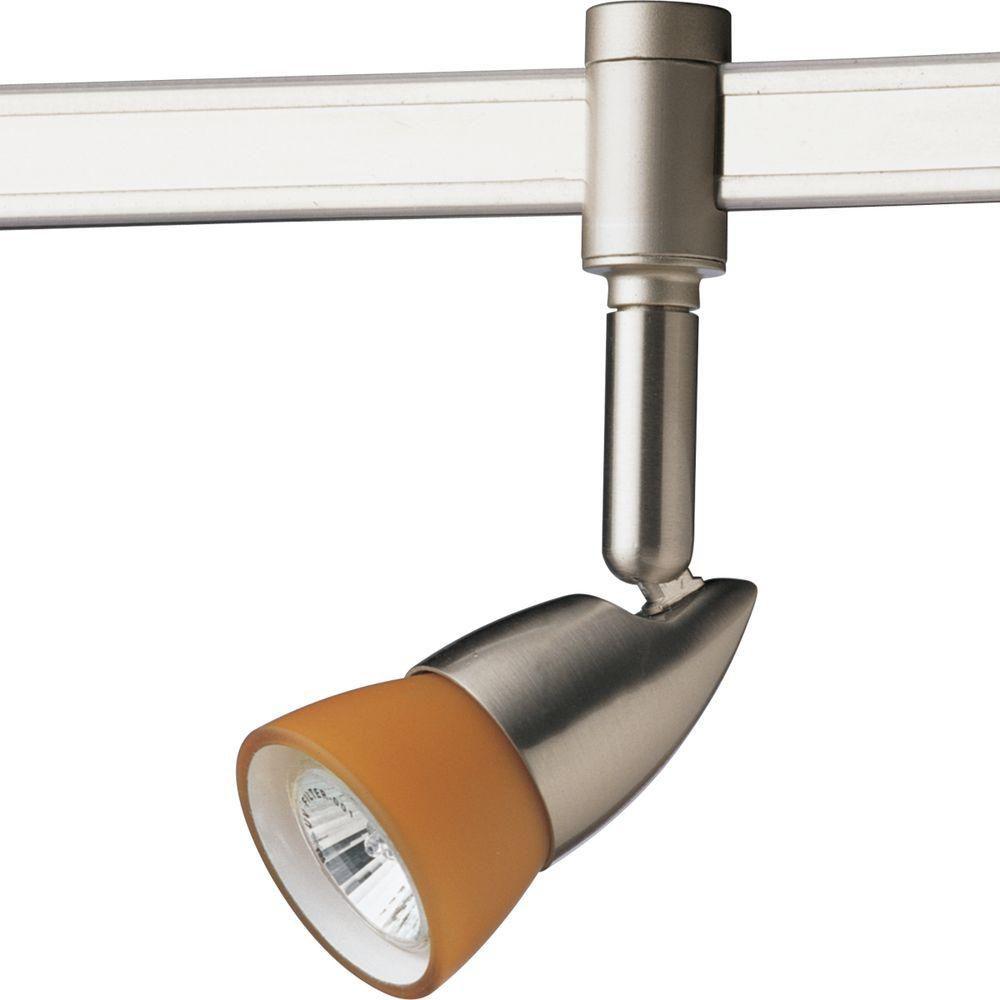 Projecteur à 1 Lumière, Collection Illuma-Flex - fini Nickel Brossé