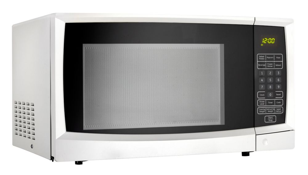 Designer 1.1 cu. ft. Countertop Microwave in White