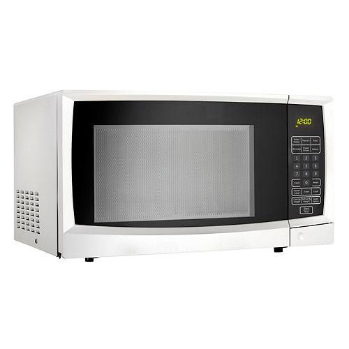 Danby Designer 1.1 cu. ft. Countertop Microwave in White