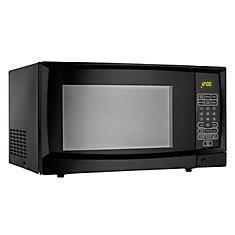 Designer 1.1 cu. ft. Countertop Microwave in Black
