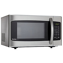 Danby Designer 1.1 cu. ft. Countertop Microwave in Stainless Steel