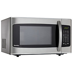Countertop Microwave In Stainless Steel