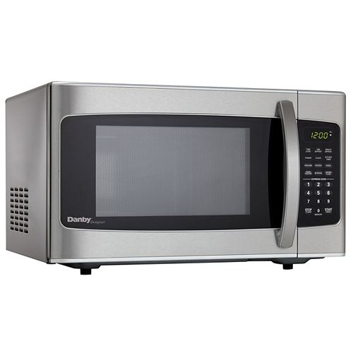 Danby Designer 1.1 cu. ft. Countertop Microwave in Stainless Steel