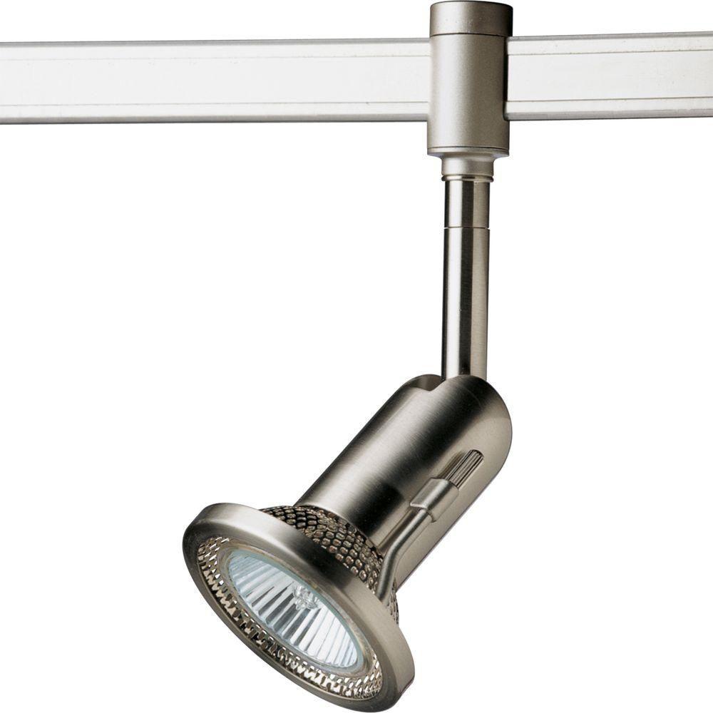 Progress Lighting Illuma Flex Collection Brushed Nickel 1 Light Spotlight T