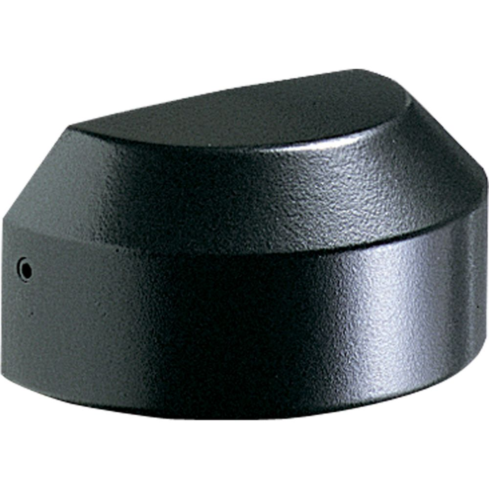 Black 1-light Landscape Decklight