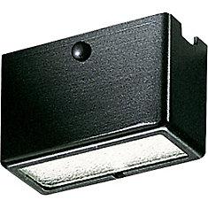 Black 1-light Landscape Deck Light