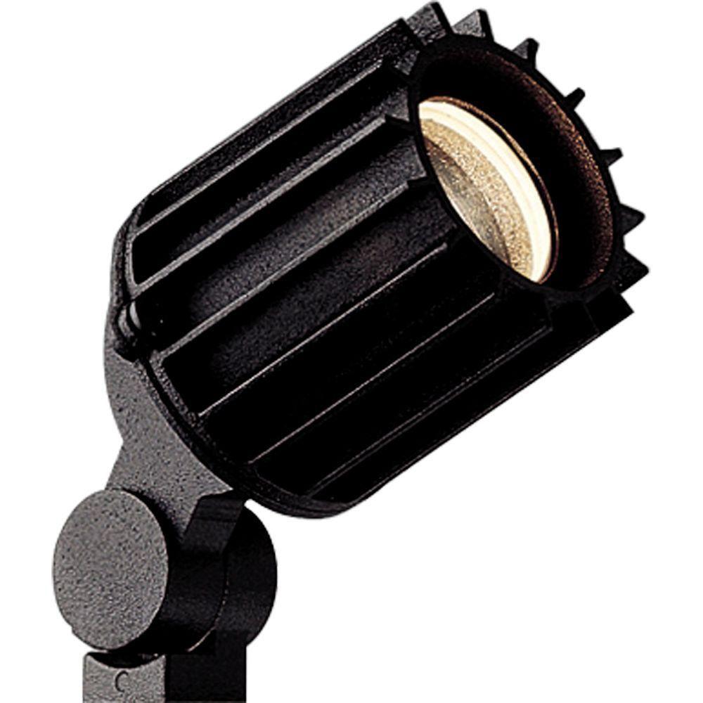 Luminaire projecteur paysager à 1 Lumière - fini Noir