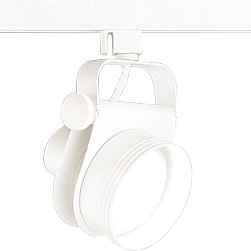 Alpha Trak Collection White 1-light Track Head