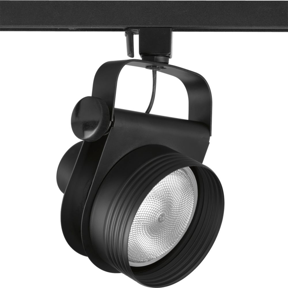 Alpha Trak Collection Black 1-light Track Head