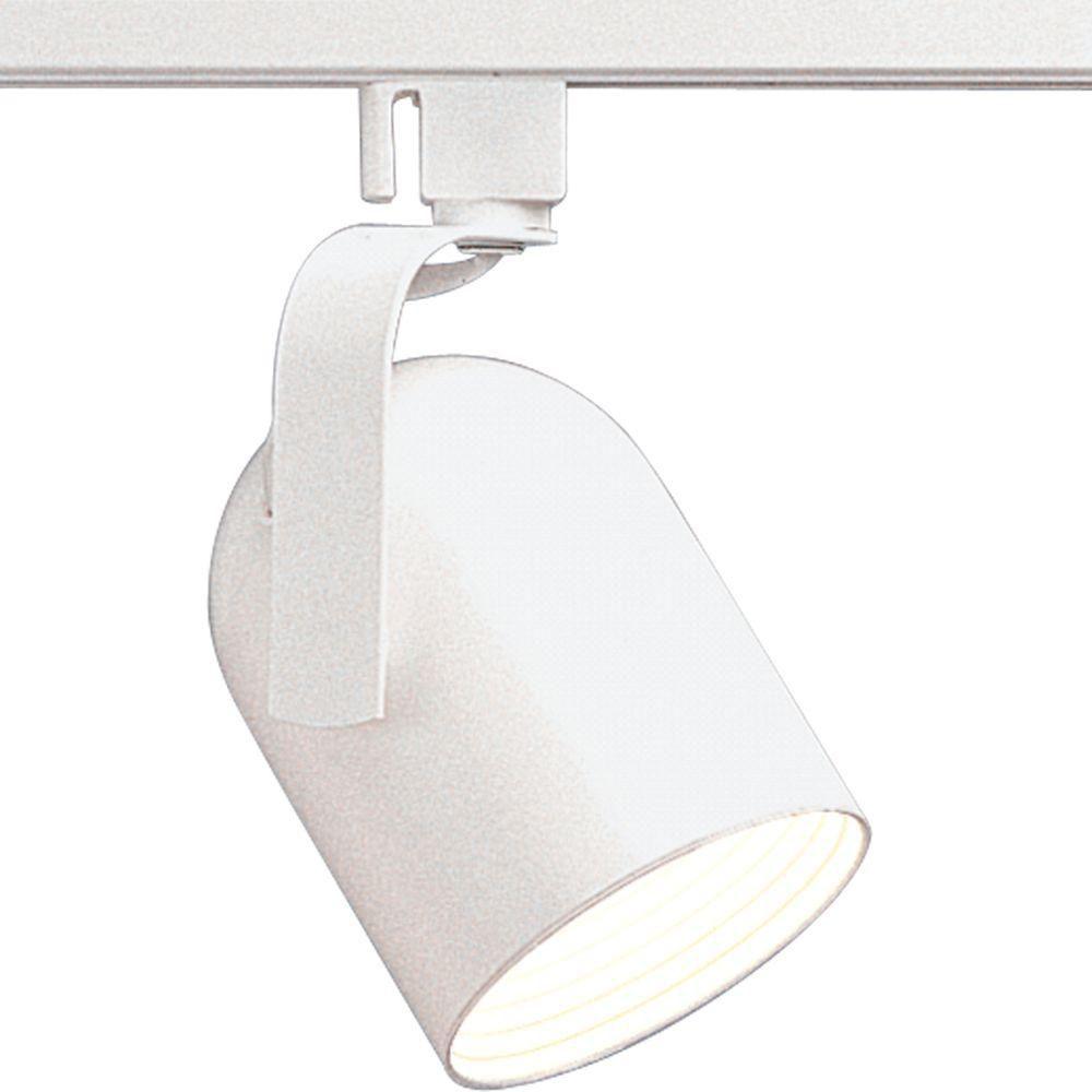 Alpha Trak Collection White 1-light Track Head