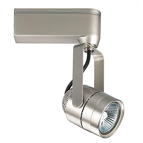 Progress lighting alpha track 50w 1 light brushed nickel finish alpha track 50w 1 light brushed nickel finish track lighting head mozeypictures Image collections